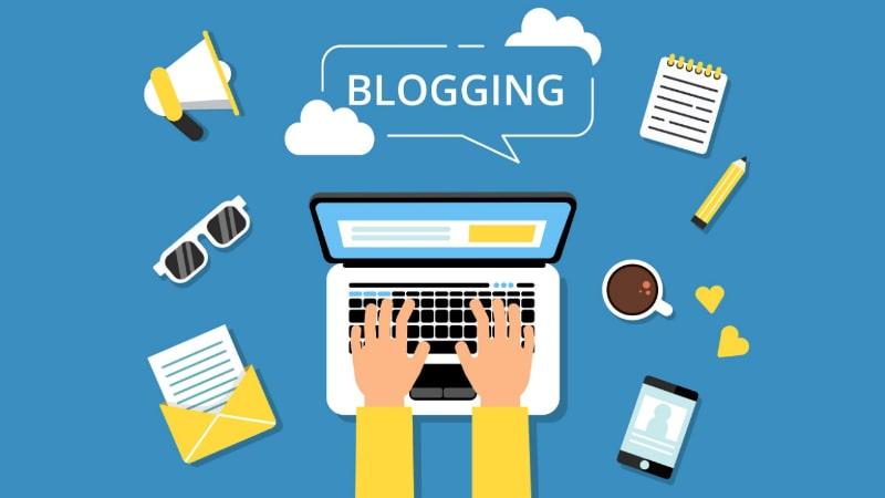 ब्लॉगिंग