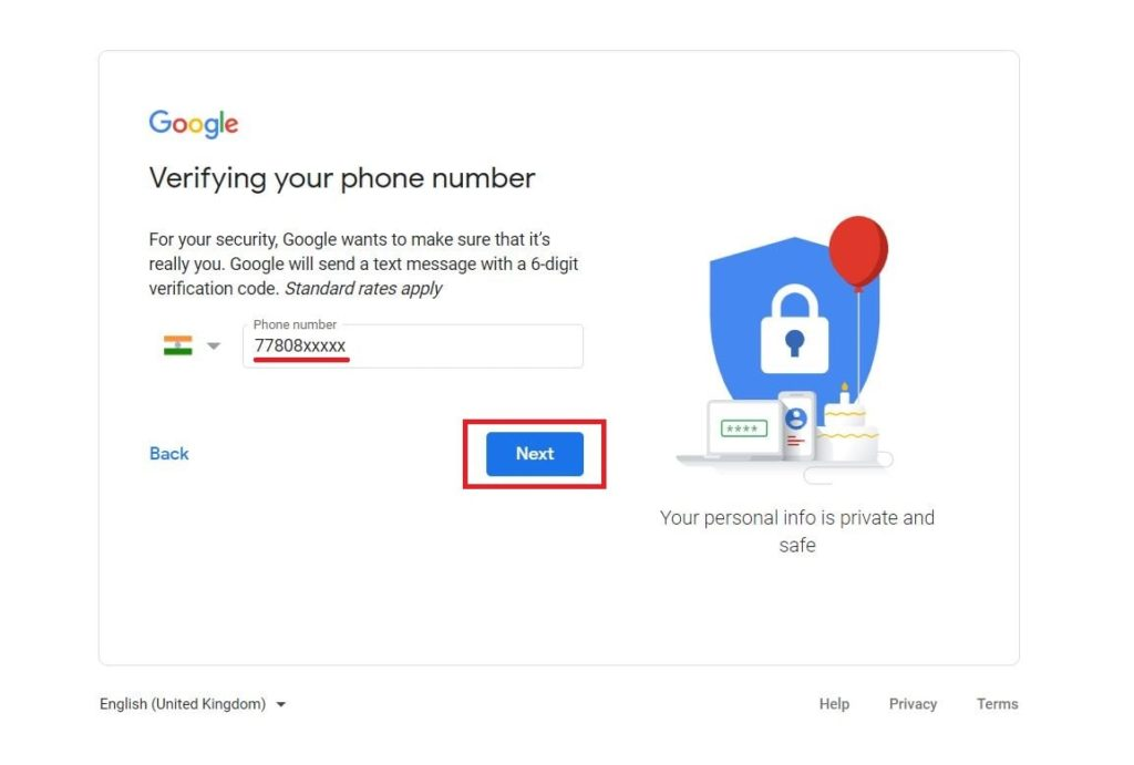 Email ID Kaise Banaye Step 4