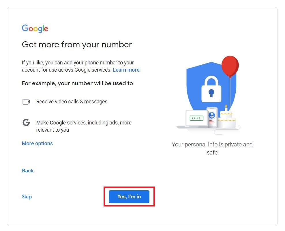 Email ID Kaise Banaye Step 7
