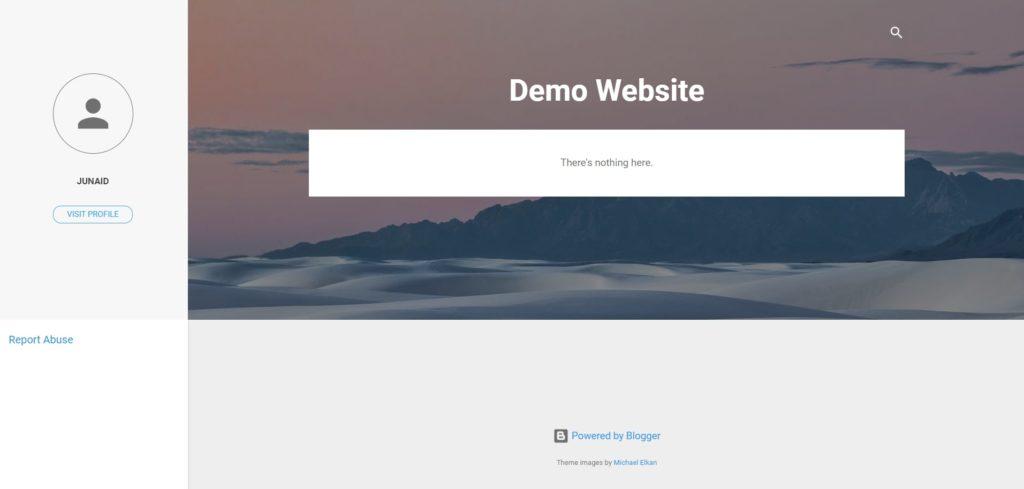 Free Website kaise banaye Step9