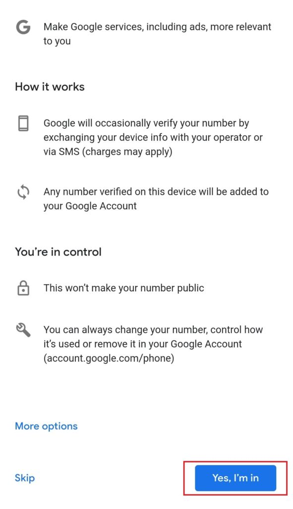 Mobile Se Email ID Kaise Banaye Step 8