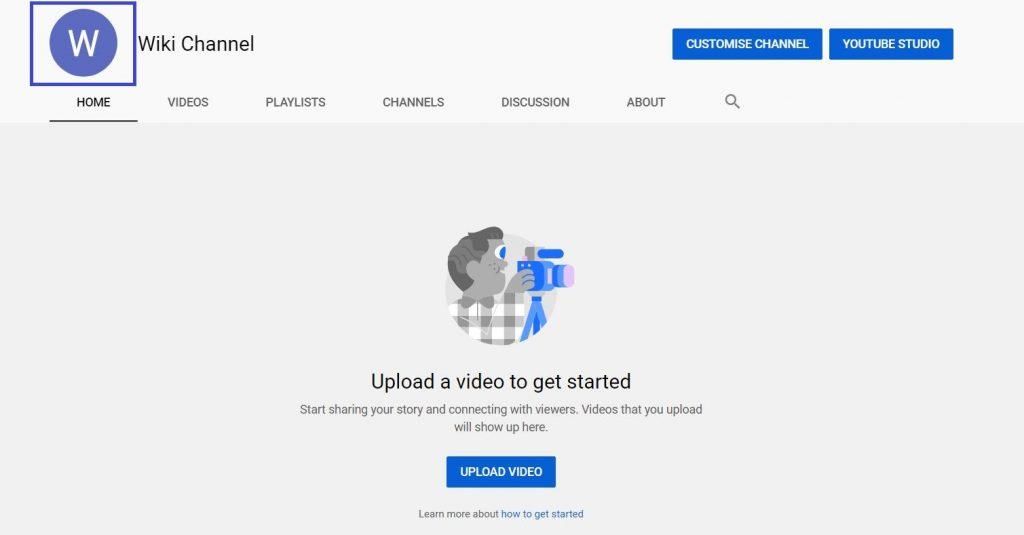 YouTube par Logo kaise Upload kare Step2