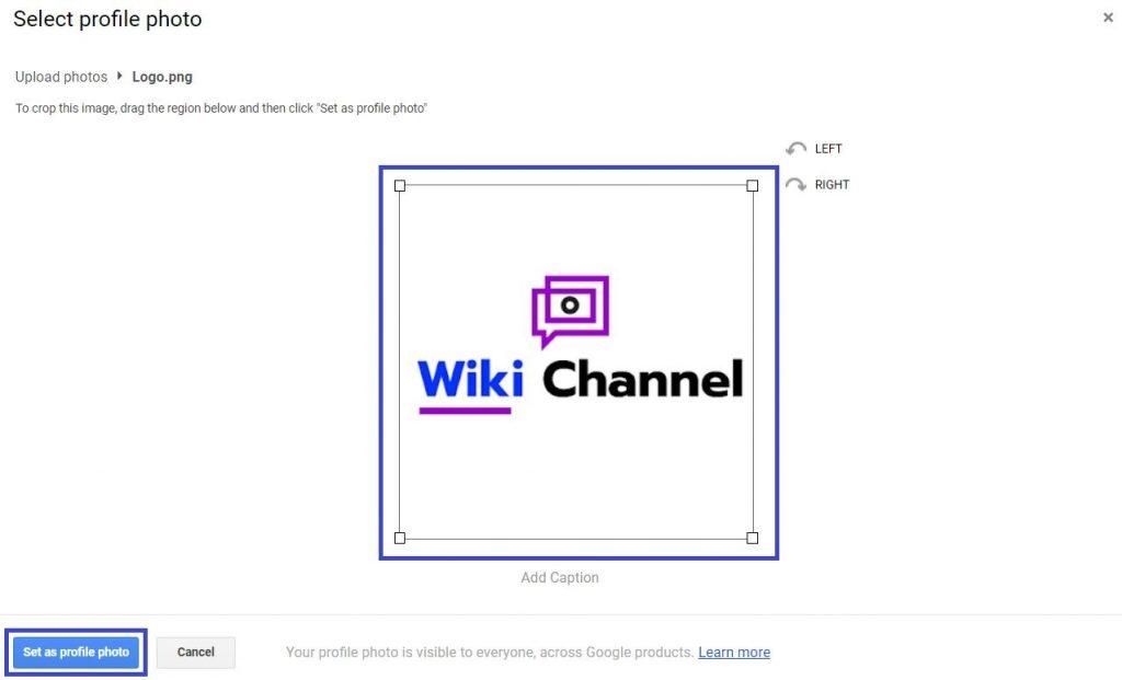 YouTube par Logo kaise Upload kare Step7