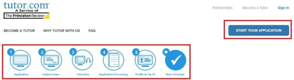 tutor 5 Steps