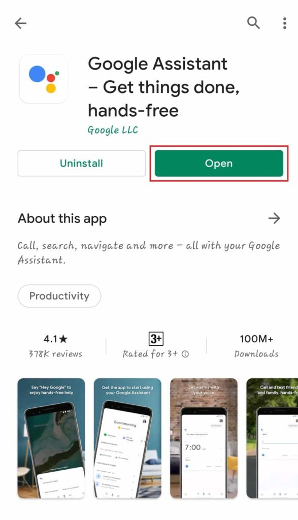 Google Voice Assistant App Install Kaise Kare Step 3